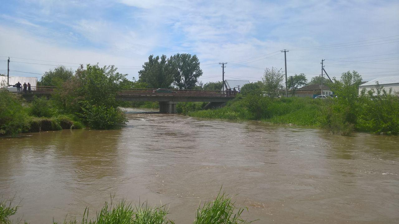 Свидетели изЗеленокумска подтверждают стабильный уровень воды вреке Куме